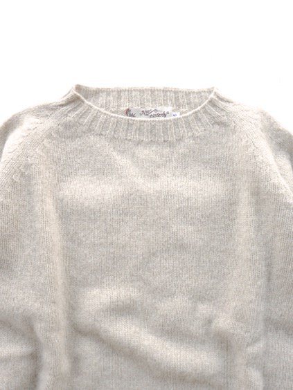 Nor' easterly L/S CREW NECK KNIT (OATMILK)3