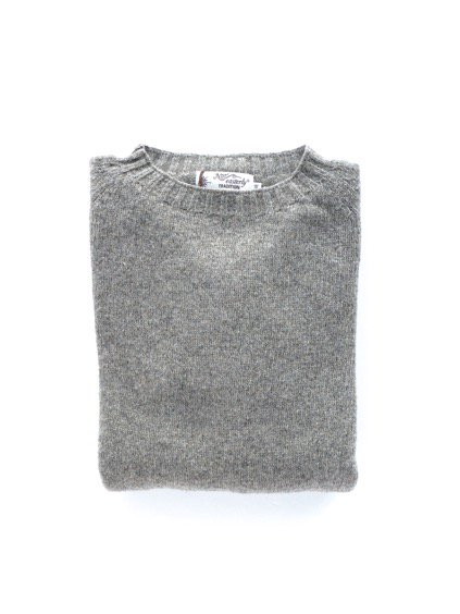 Nor' easterly L/S CREW NECK KNIT (OYSTER)