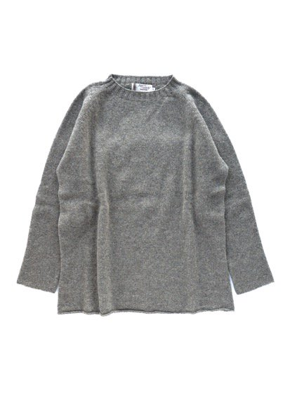Nor' easterly L/S CREW NECK KNIT (OYSTER)2