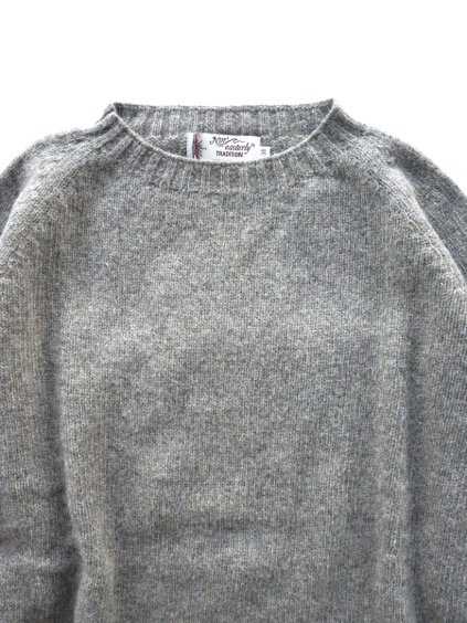 Nor' easterly L/S CREW NECK KNIT (OYSTER)3