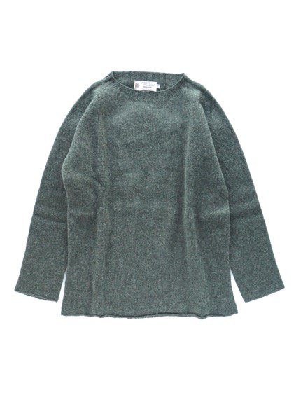 Nor' easterly L/S CREW NECK KNIT (SPRUCE)2