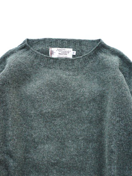 Nor' easterly L/S CREW NECK KNIT (SPRUCE)3