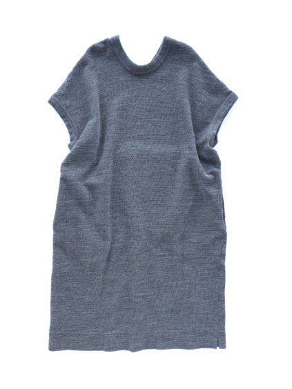 NO CONTROL AIR WOOL TOP BLOCK KNIT ONE PIECE  (gray top)4