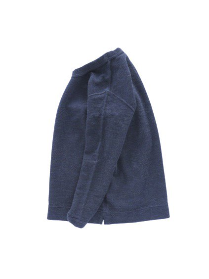 NO CONTROL AIR WOOL TOP BLOCK KNIT  (navy top)3