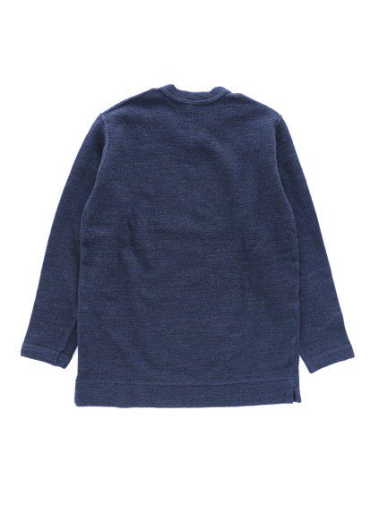 NO CONTROL AIR WOOL TOP BLOCK KNIT  (navy top)4