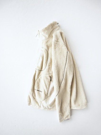 and wander high loft fleece jacket (off white)2