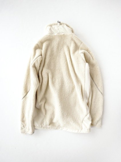 and wander high loft fleece jacket (off white)3