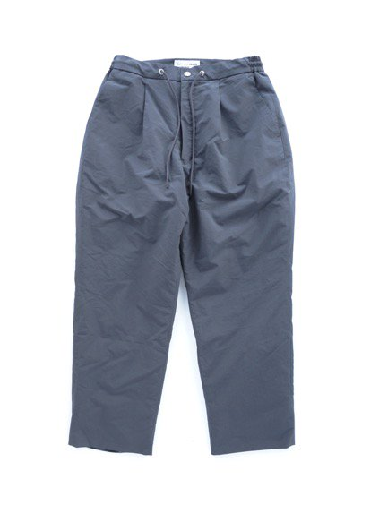 ENDS & MEANS EASY PUFF SLACKS (DARK GRAY)1