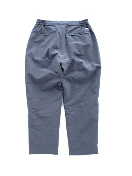 ENDS & MEANS EASY PUFF SLACKS (DARK GRAY)4