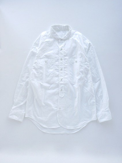 gorouta ROUND COLLAR SHIRTS (WHITE)