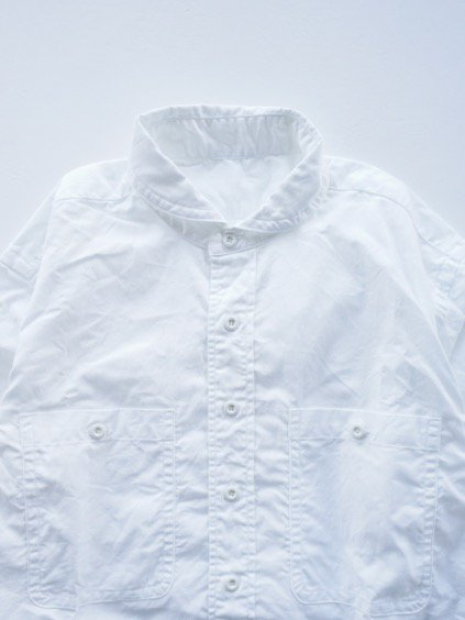 gorouta ROUND COLLAR SHIRTS (WHITE)2