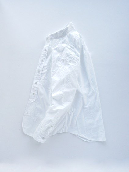 gorouta ROUND COLLAR SHIRTS (WHITE)3