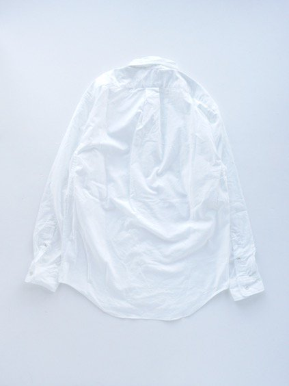 gorouta ROUND COLLAR SHIRTS (WHITE)4