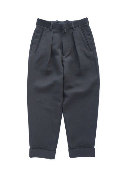 ID DAILYWEAR IN TUCK WIDE PANTS  (BLACK)