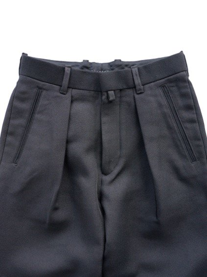 ID DAILYWEAR IN TUCK WIDE PANTS  (BLACK)2
