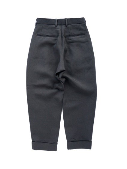 ID DAILYWEAR IN TUCK WIDE PANTS  (BLACK)4
