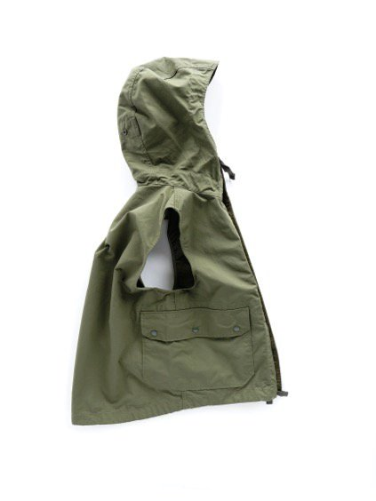 Engineered Garments FIELD VEST -NYLON COTTON RIPSTOP- (OLIVE)3
