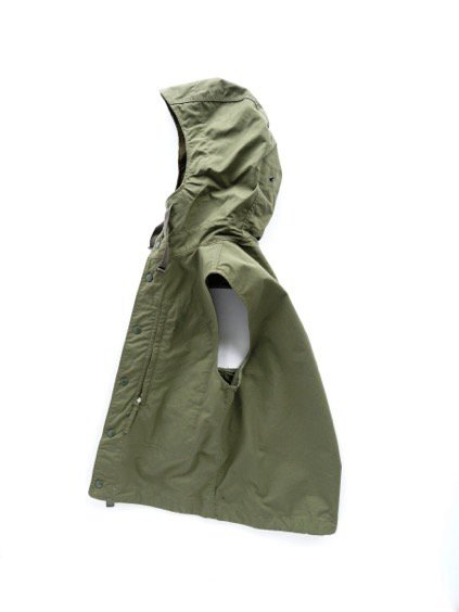 Engineered Garments FIELD VEST -NYLON COTTON RIPSTOP- (OLIVE)4