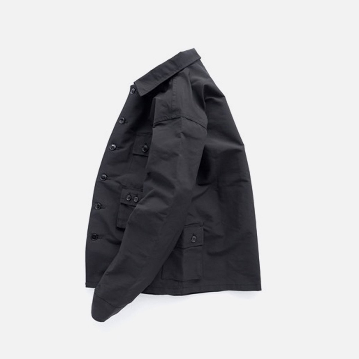 SASSAFRAS G.D.U. JACKET MEMORY OXFORD (BLACK)3