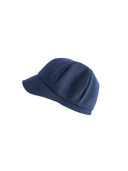 mature ha. melton chez Ameli Cap (Navy)