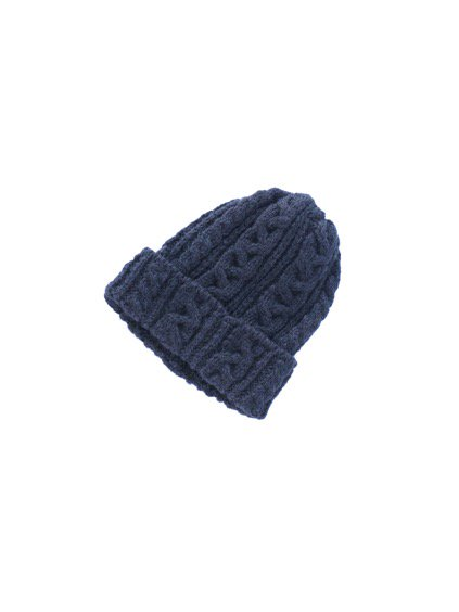 HIGHLAND2000 ALPACA BOB CAP cable (NAVY)(BLACK)4