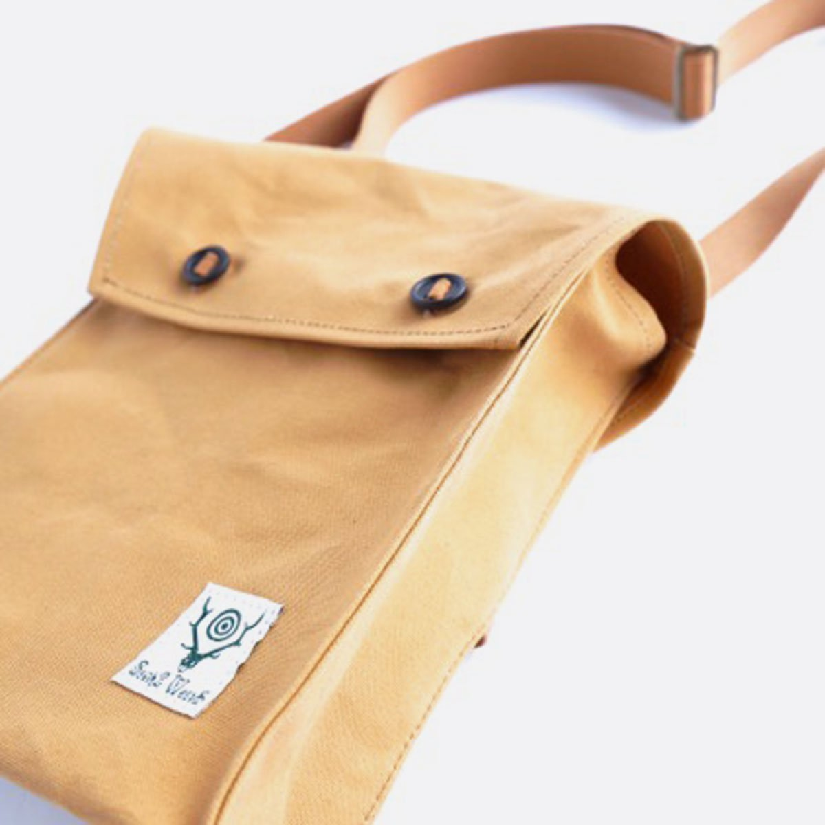 SOUTH2 WEST8 Bandage Bag -Cotton Canvas- (SUNTAN)3