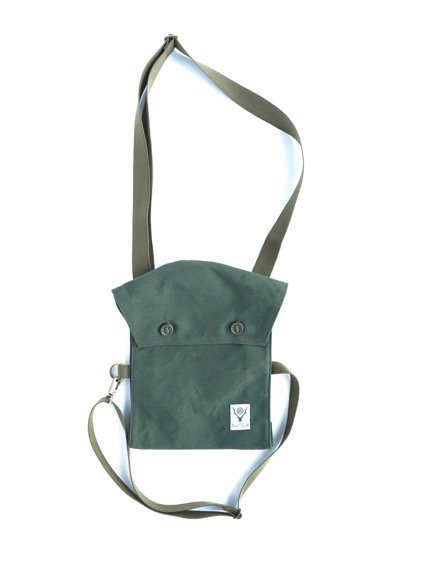 SOUTH2 WEST8 Bandage Bag -Cotton Canvas- (OLIVE)1