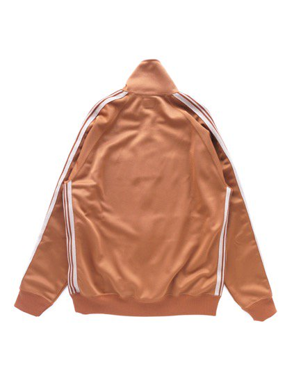 NEEDLES  TRACK JACKET - POLY SMOOTH  (BROWN)4