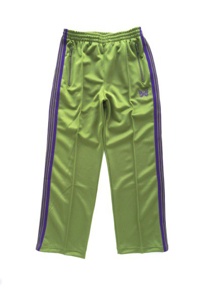 NEEDLES  TRACK PANT - POLY SMOOTH  (LT.GREEN)