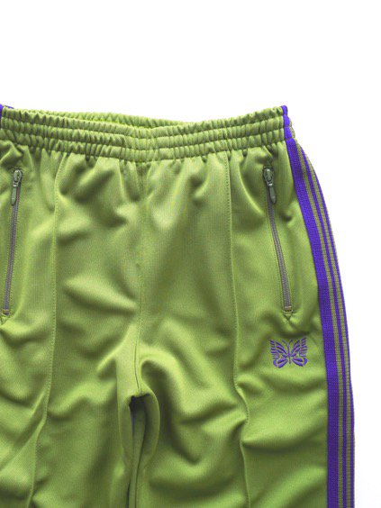 NEEDLES  TRACK PANT - POLY SMOOTH  (LT.GREEN)2