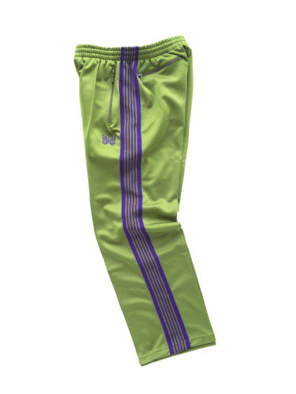 NEEDLES  TRACK PANT - POLY SMOOTH  (LT.GREEN)3