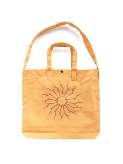 SOUTH2 WEST8 Grocery Bag -Skull&Target(Suntan)2