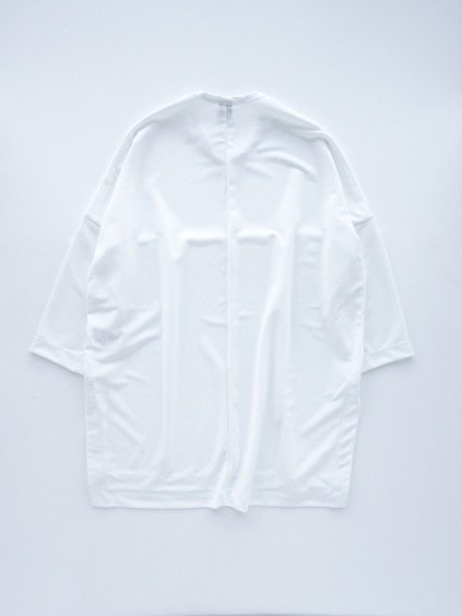 NO CONTROL AIR BRIGHT TRIACETATE DOUBLE JERSEY CUTSEW (white)4