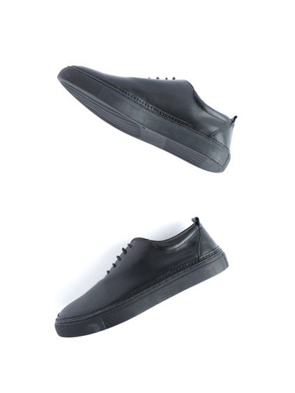 Ouur RACE UP SNEAKER (BLACK)4