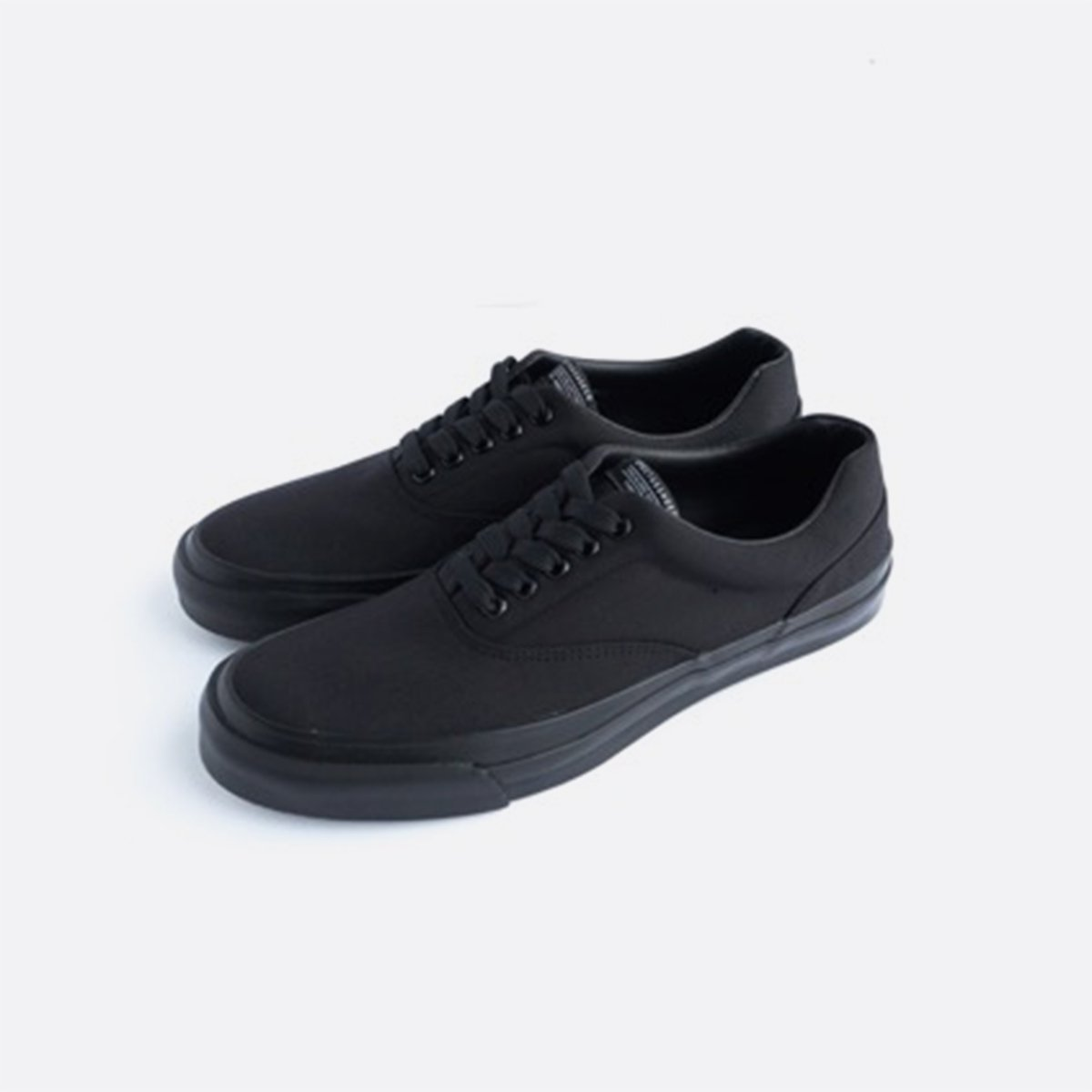 SPECTUS SHOE CO. Solid Kicks no.2 (BLACK/BLACK)3
