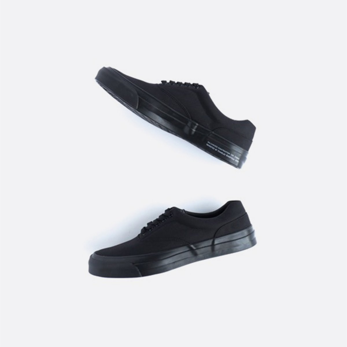 SPECTUS SHOE CO. Solid Kicks no.2 (BLACK/BLACK)4