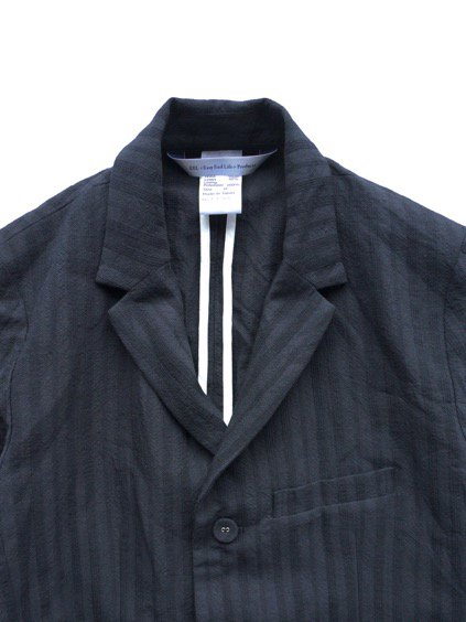 EEL BELLBOY JACKET  (NAVY STRIPE)2