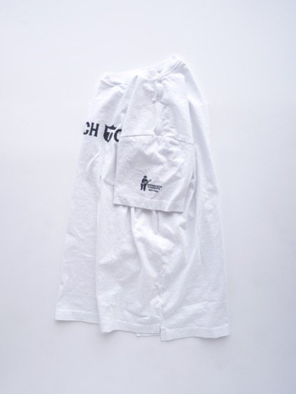 Engineered Garments Printed T-shirt -Trench Town-  (WHITE)4