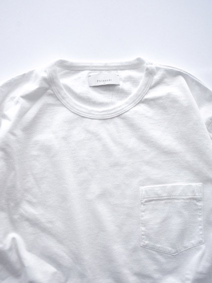 Phlannel Suvin Cotton Pocket T-shirt  (White)2