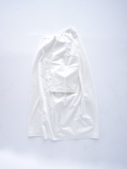 Phlannel Suvin Cotton Pocket T-shirt  (White)3