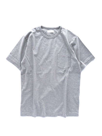Phlannel Suvin Cotton Pocket T-shirt  (Top Gray)