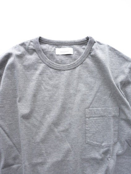 Phlannel Suvin Cotton Pocket T-shirt  (Top Gray)2