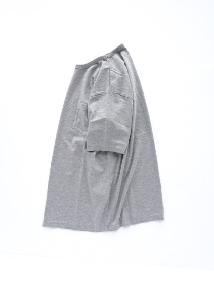 Phlannel Suvin Cotton Pocket T-shirt  (Top Gray)3