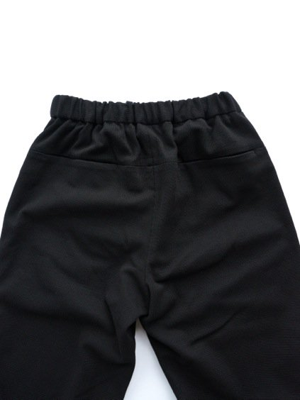 山内 COTTON LINEN KNIT PANTS (black)4