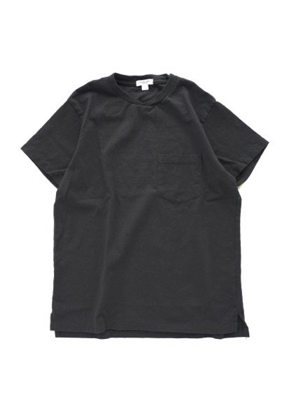 Engineered Garments  Workaday C/N Pocket Tee  (BLACK)