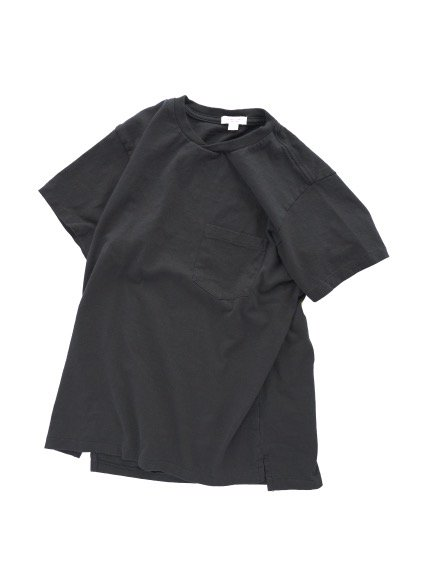 Engineered Garments  Workaday C/N Pocket Tee  (BLACK)3