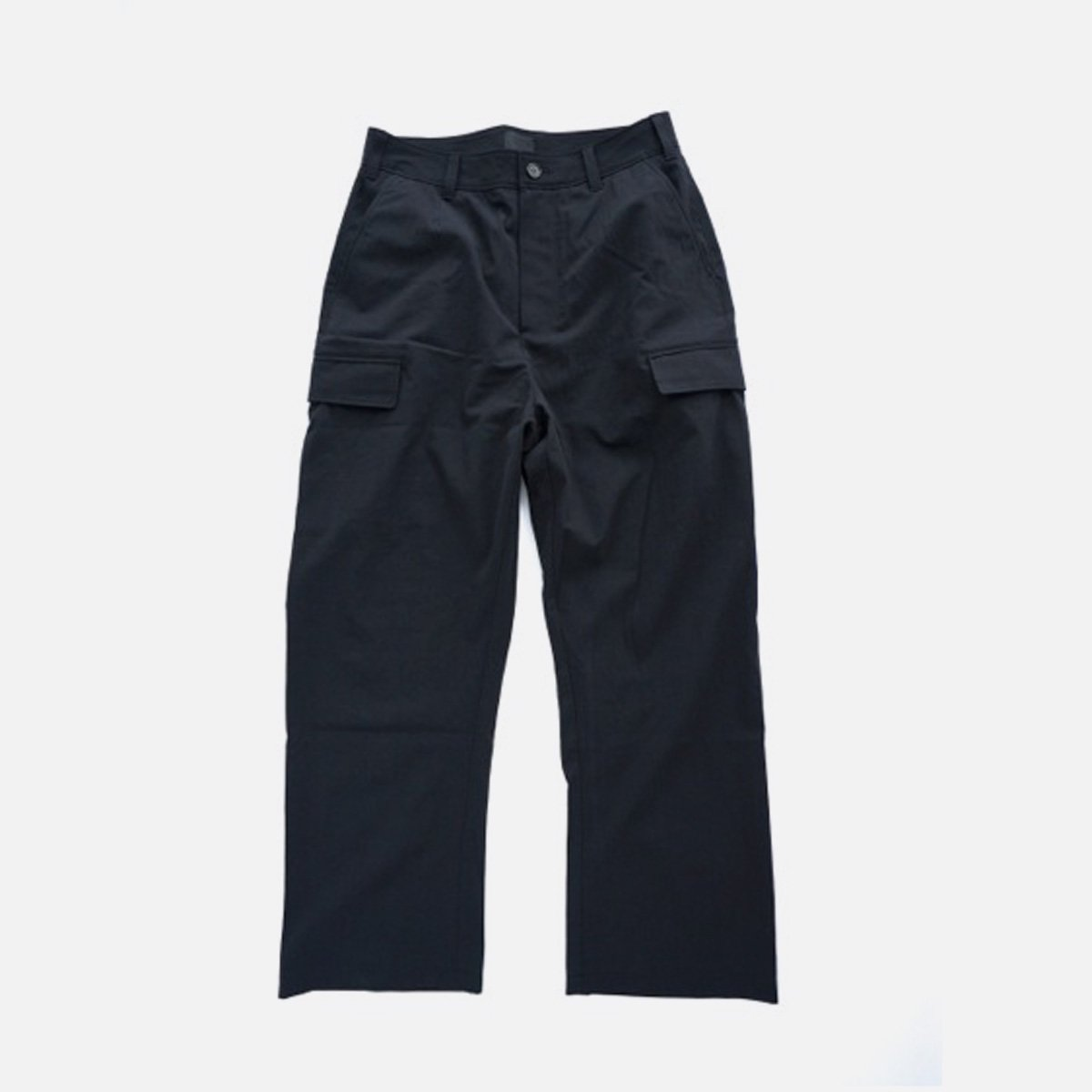 山内 COTTON VOILE 6PKT PANTS (black)