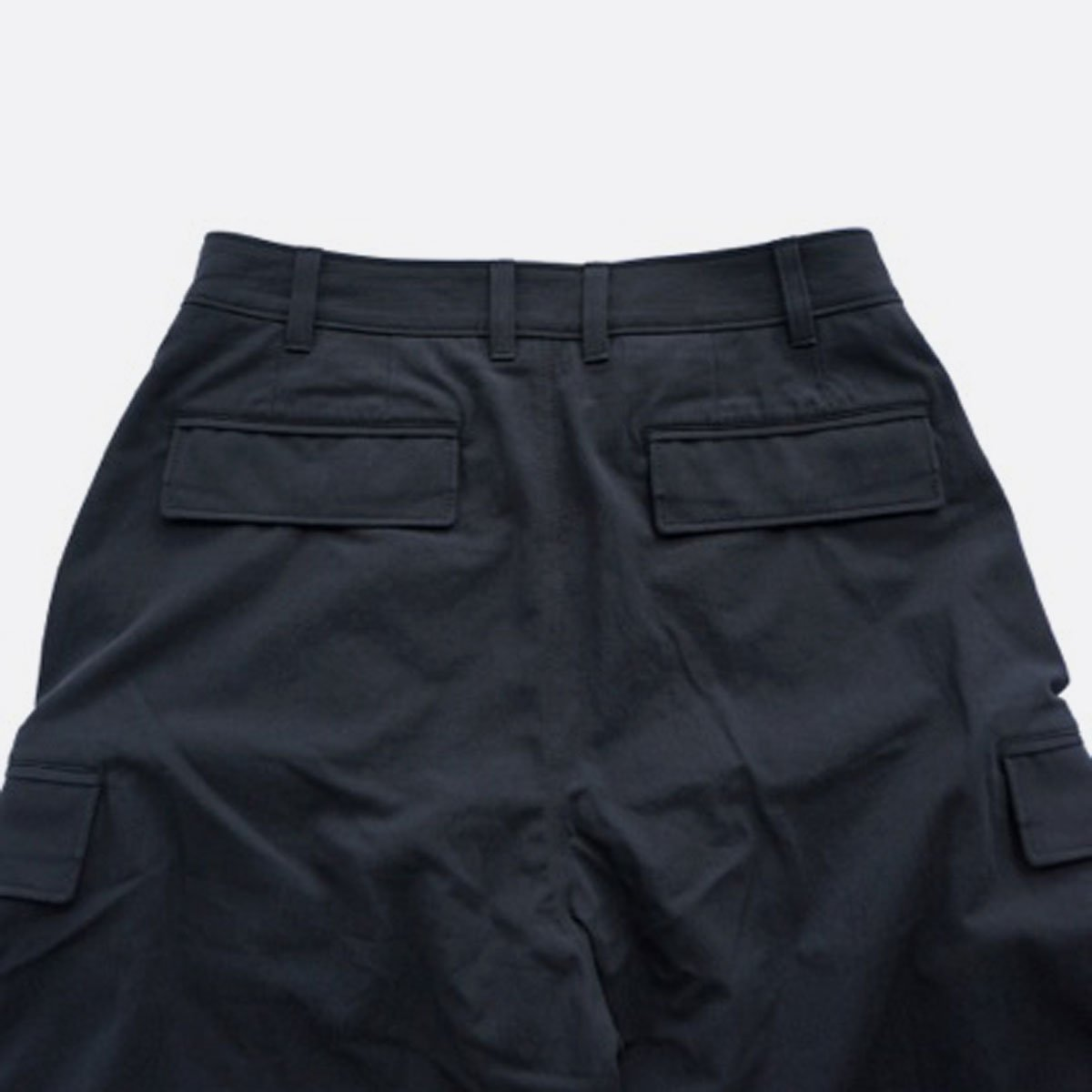 山内 COTTON VOILE 6PKT PANTS (black)4
