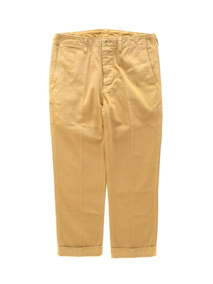 visvim  HIGH-WATER CHINO -GIZA CHINO- (KHAKI)