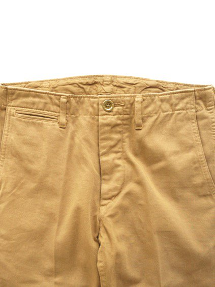 visvim  HIGH-WATER CHINO -GIZA CHINO- (KHAKI)2
